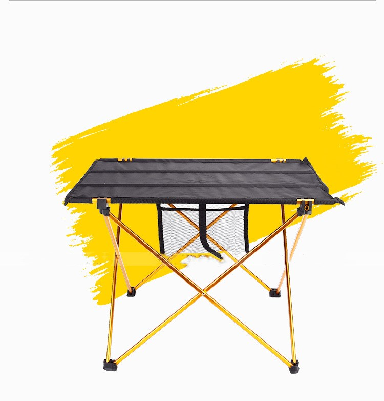 Cheapest ! 30PCS/LOT Aluminium Alloy Picnic Table Waterproof Ultra-light Durable Folding Table Desk For Outdoor Camping Picnic alluminum alloy magic folding table bronze color magic tricks illusions stage mentalism necessity for magician accessories