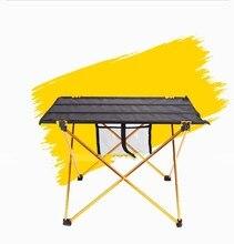 Cheapest 30PCS LOT Aluminium Alloy Picnic Table Waterproof Ultra light Durable Folding Table Desk For Outdoor