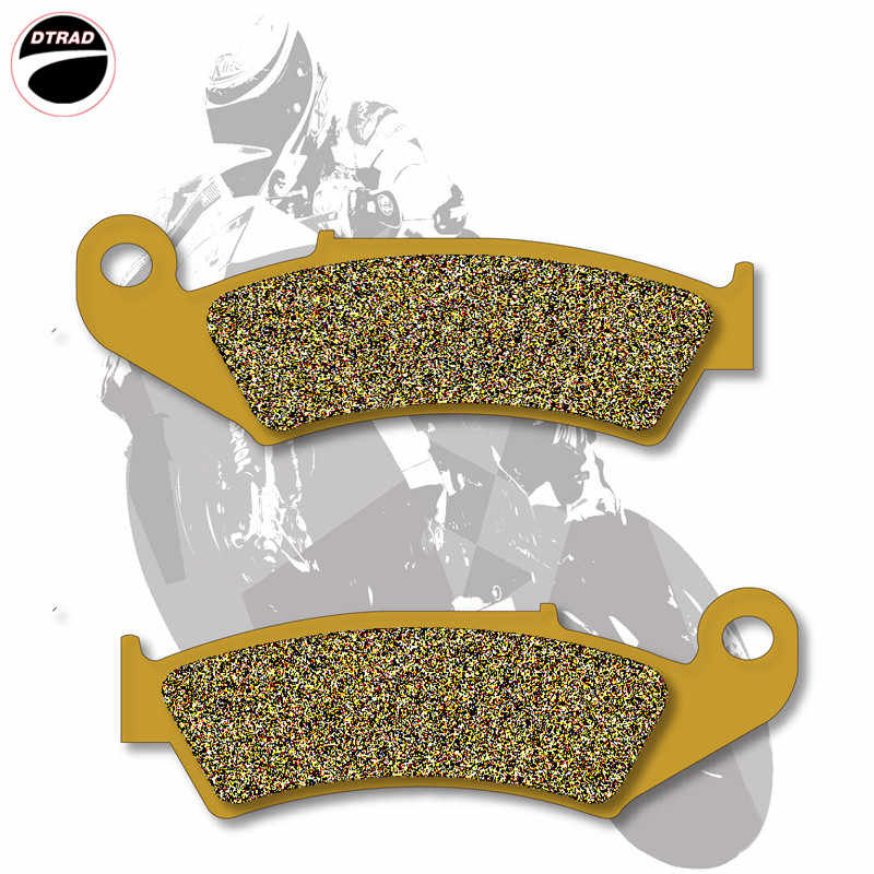 Moto Brake Pads Front+Rear For HONDA CR 125 87-01 500 87-01 250 87-01 CRF 230 08-11 XR 250 90-04 400 96-04 600 91-00 650 93-11