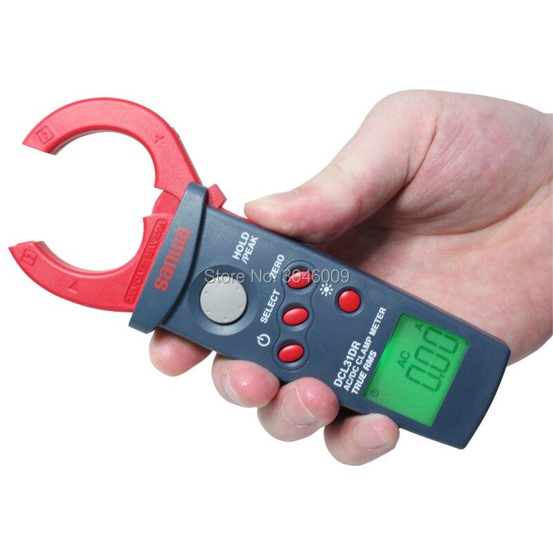 Sanwa DCL31DR DC/AC RMS mini clamp meter; 400A digitale amperometro - 2