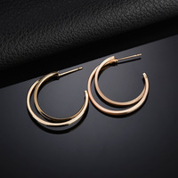 SexeMara Bohemian Hollow Out Moon Earrings Women Party Silver / Gold Color Vintage Metal Drop Earring Statement Jewelry Pendient