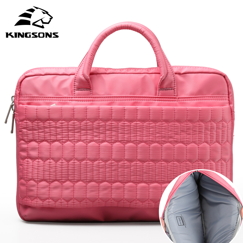 Kingsons Fashion Laptop Handbag Waterproof Men and Women Business Travel for 13 15 Laptop Notebook Computer