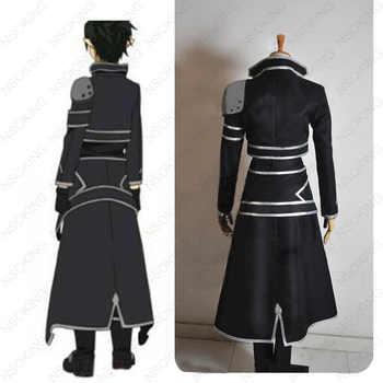 New Sword Art Online Kirigaya Kazuto Costume Anime ALO Kirito Cosplay Costumes Customzied