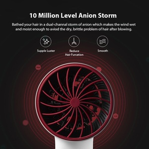 Image 2 - SOOCAS H5 Negative Ion Hair Dryer 1800W Professional Blow Dryer Aluminum Alloy Powerful Electric Dryer Cold Hot Air Circulating