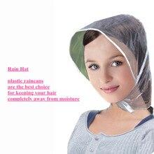 Новая пластиковая непромокаемая шляпа, плащ, плащ для женщин, подарки для детей, универсальное использование, для пеших прогулок, рыбалки, дождей, водонепроницаемый, ветрозащитный, Прямая поставка