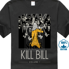 Kill Bill V2 Uma Thurman 2003 T Shirt Black Yellow All Sizes S To 4Xl