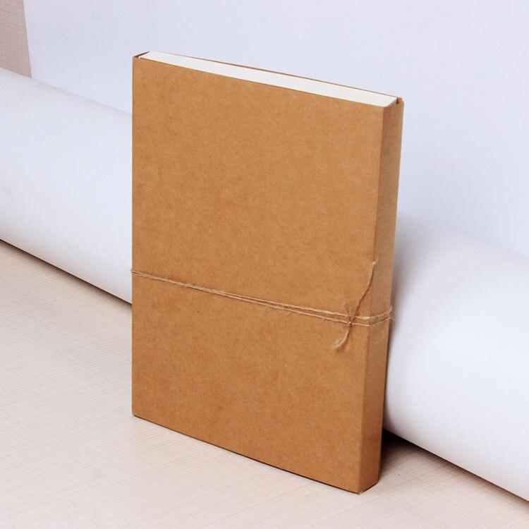 Creative rétro peau de vache couverture carnet de croquis blanc croquis peinture graffiti livre cahier nu