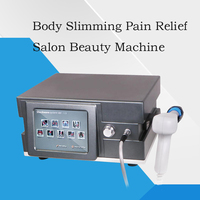 Radial Shock Wave Therapy Pain Relif Acoustic Wave Ultrasonic Weight Loss Slimming Machine Stimulates Collagen Formation ED