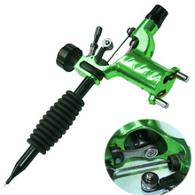 Dragonfly Rotary Tattoo Machine Shader & Liner Assorted Tatoo Motor Kits Supply 7 Colors High Quality Guns H7JP