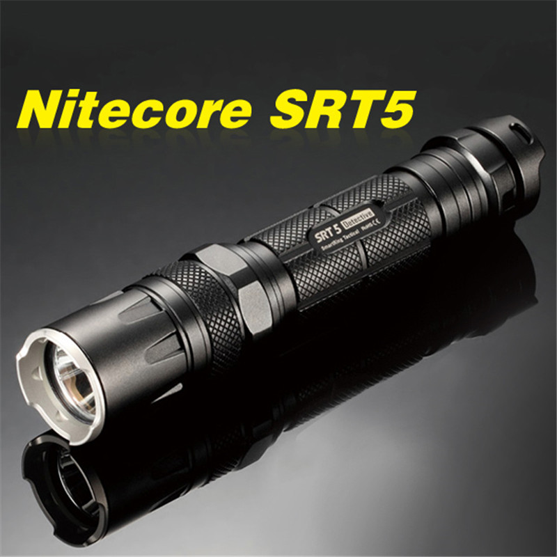 Nitecore SRT5 Tactical Waterproof 750LM 4 modes XM-L2 T6 LED light lamp Flashlight 18650 CR123 torch+holster+O-ring+clip nitecore tm06 4 x cree xm l2 waterproof tiny led flashlight 3800lm 8 modes 4 x 18650 battery