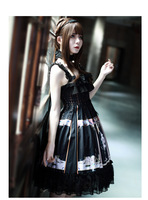 Naxos Sleeveless Dress Lolita Dark Vintage Dress