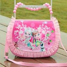 Новинка года; Милая мини-сумка-мессенджер для девочек; модная детская сумка из искусственной кожи в стиле принцессы; детская сумка через плечо в стиле Софии для девочек; мини-сумка