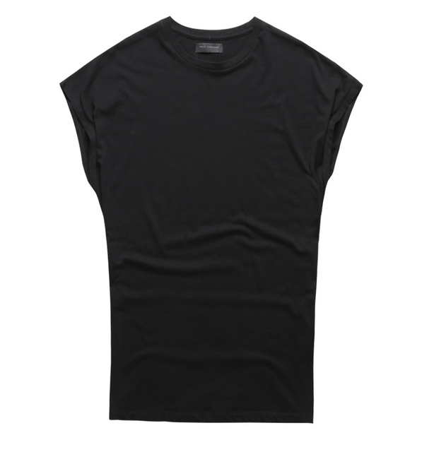 Summer New Men Casual Cotton sleeveless T-shirt Loose mens tank top bodybuilding fitness undershirt man fitness O Neck singlet 3