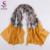 [BYSIFA] pele de cobra Longos Lenços Para As Mulheres 2016 Novo Design de Inverno Café Amarelo Mulberry Silk Scarf Shawl 200*110 cm Primavera outono