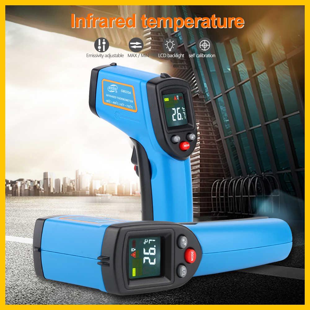 Портативная инфракрасная тепловизионная камера цифровой цветной дисплей инфракрасное разрешение изображения тепловизор камера GM333 GM333A BENETECH