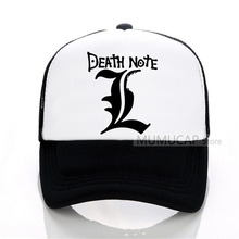 DEATH NOTE Baseball Cap Men Women Summer Trucker Caps Letter Printed Mesh Hot Net Hat
