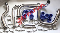 fit for D15 D16 B16 B18 EG EK EJ EM D/B SERIES CRX DEL SOL DC2 BOLT ON TURBO INTERCOOLER PIPING KIT