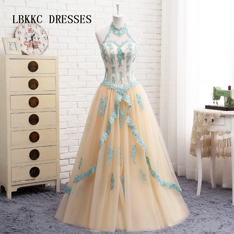 Champagne Quinceanera robes avec dentelle Tull Puffy Vestido 15 Anos Vestidos De Quinceanera douce 16 robes robe De Debutante