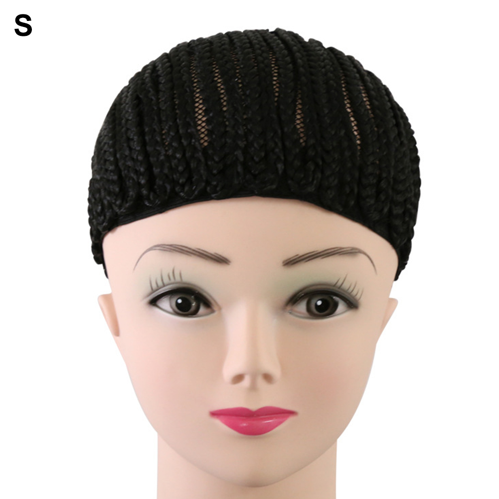 Combs Sew Hairstyles Synthetic Wig Cap Dreadlocks Adjustable Strap Horseshoe Less Stress Cornrow Crochet For Black Women Girls 网 红 小 姐姐