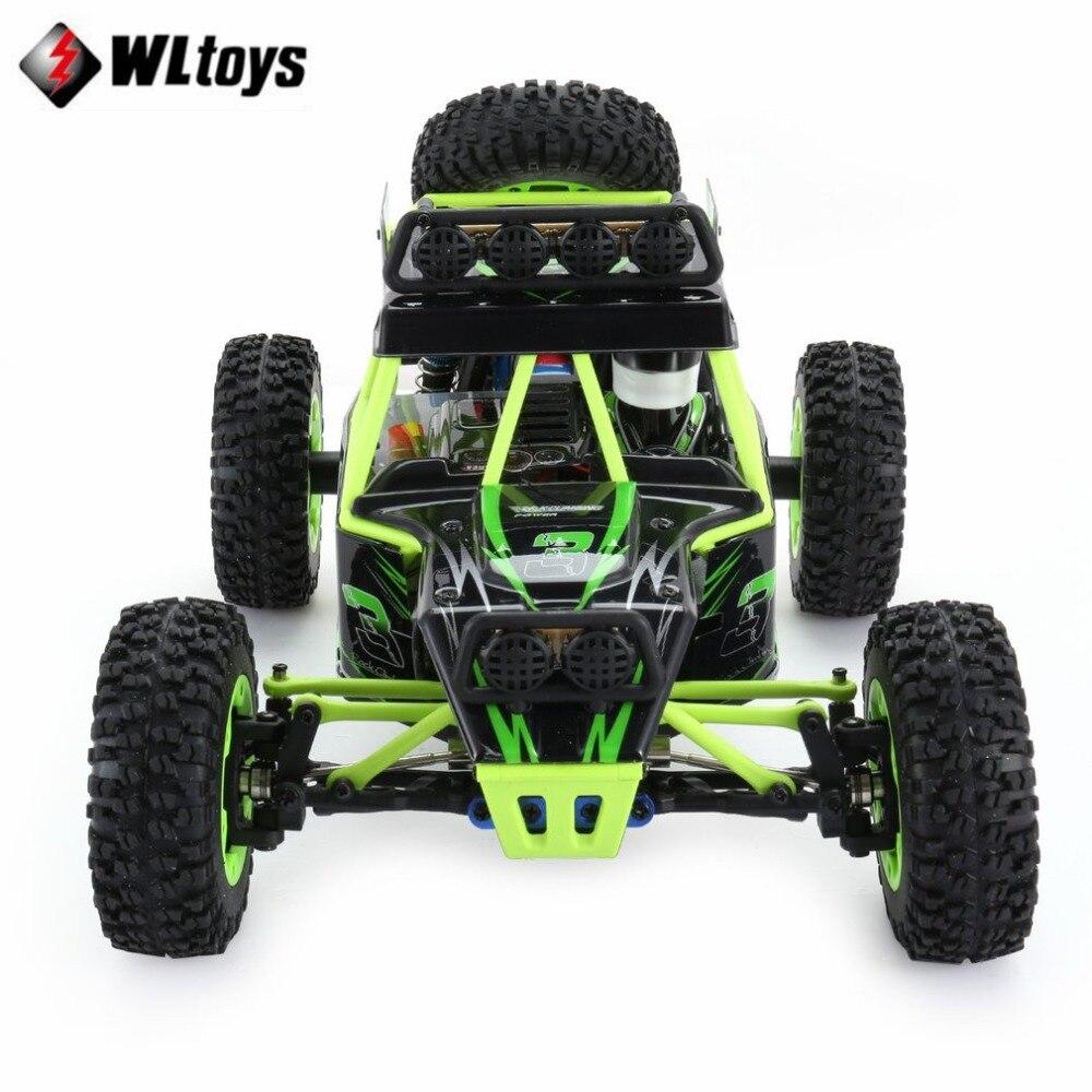 Wltoys 12428 RC Auto Arrampicata Giocattoli 50 KM/H 1/12 Bilancia 2.4G 4WD Telecomando Auto Off road del veicolo regalo del giocattolo Con 1/2/3 Batteria - 2