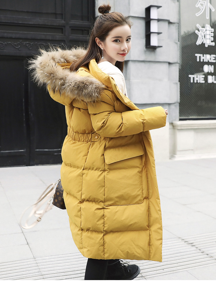white D'hiver Capuchon Femmes À Parkas Vêtements Femme Manteau Creamy green yellow rust Longs Red Coton Manteaux Coréenne Poches Veste black Ch616 Solide Chaud 5qf4vTv