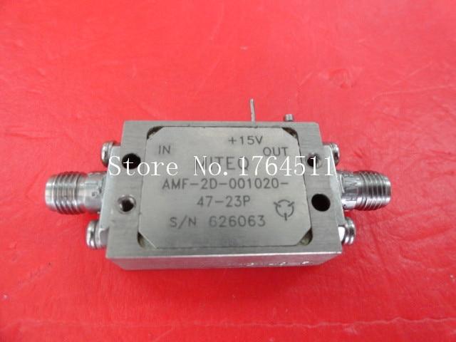 [BELLA] MITEQ AMF-2D-001020-47-23P amplificateur dalimentation 15 V SMA[BELLA] MITEQ AMF-2D-001020-47-23P amplificateur dalimentation 15 V SMA