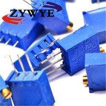 20 ШТ. Потенциометра 3296 Вт 503 50 К переменный резистор Подстроечный Резистор Триммер Потенциометр