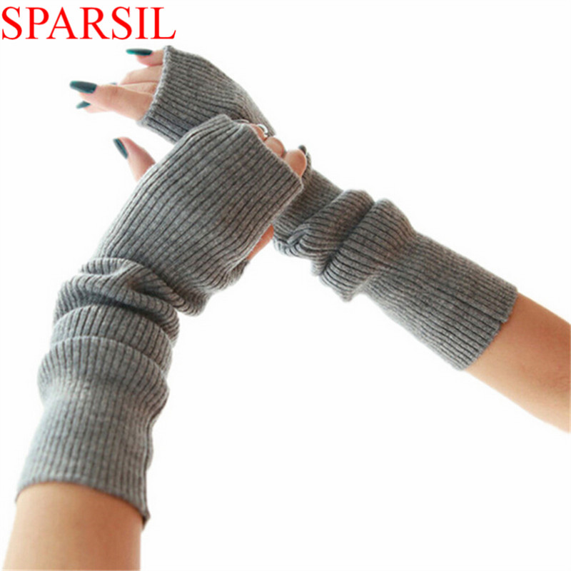 Sparsil Women s font b Winter b font Autumn Christmas Cashmere Blend Knitted Long font b