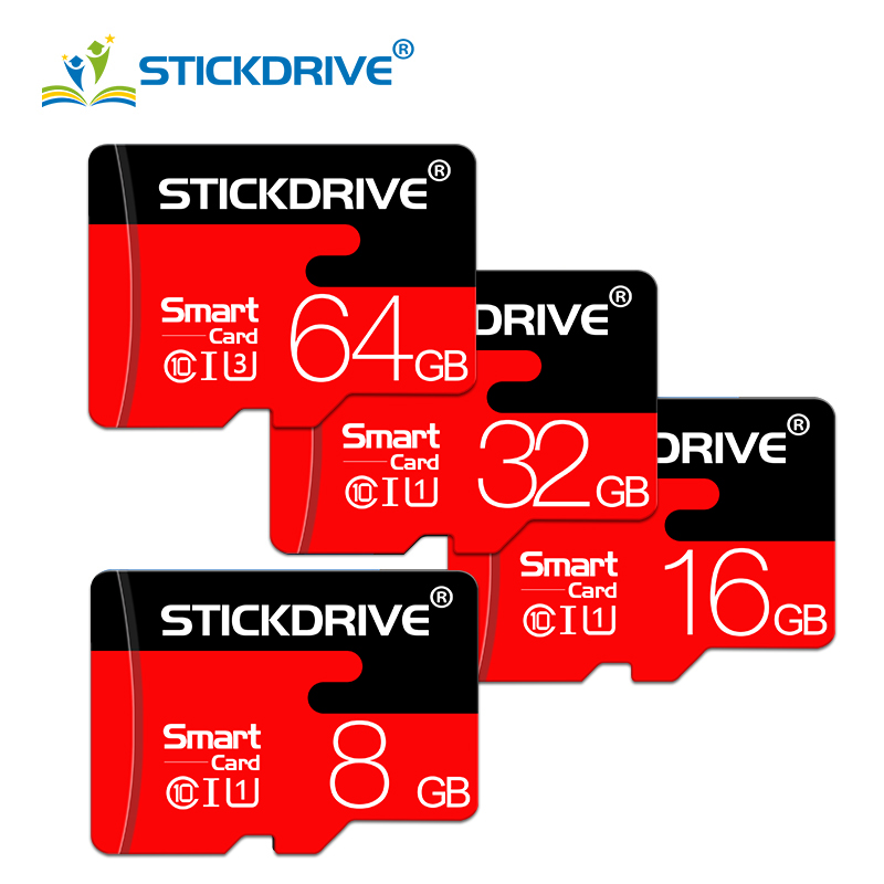 High Quality Micro SD Card 128GB 64GB Memory Card 32GB 16GB 8GB Class10 TF Card Cartao De Memoria Flash Card Gift Adapater