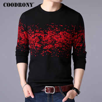 COODRONY Sweater Men Casual O-Neck Pullover Men Clothes 2019 Autumn Winter New Arrival Top Sost Warm Mens Cashmere Sweaters 8257 - DISCOUNT ITEM  45% OFF All Category