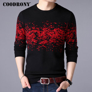 Image 1 - COODRONY Sweater Men Casual O Neck Pullover Men Clothes 2020 Autumn Winter New Arrival Top Sost Warm Mens Cashmere Sweaters 8257