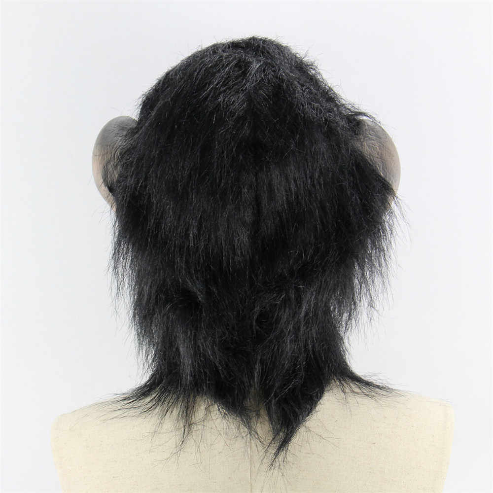 Coslive Рождественская распродажа маска Горилла животное обезьяна полный голова Лицо Латексная маски из ПВХ Косплэй опора для фестиваля праздник вечерние Декор
