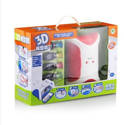 The new toy 3D magic printer using environmentally friendly restore cloth