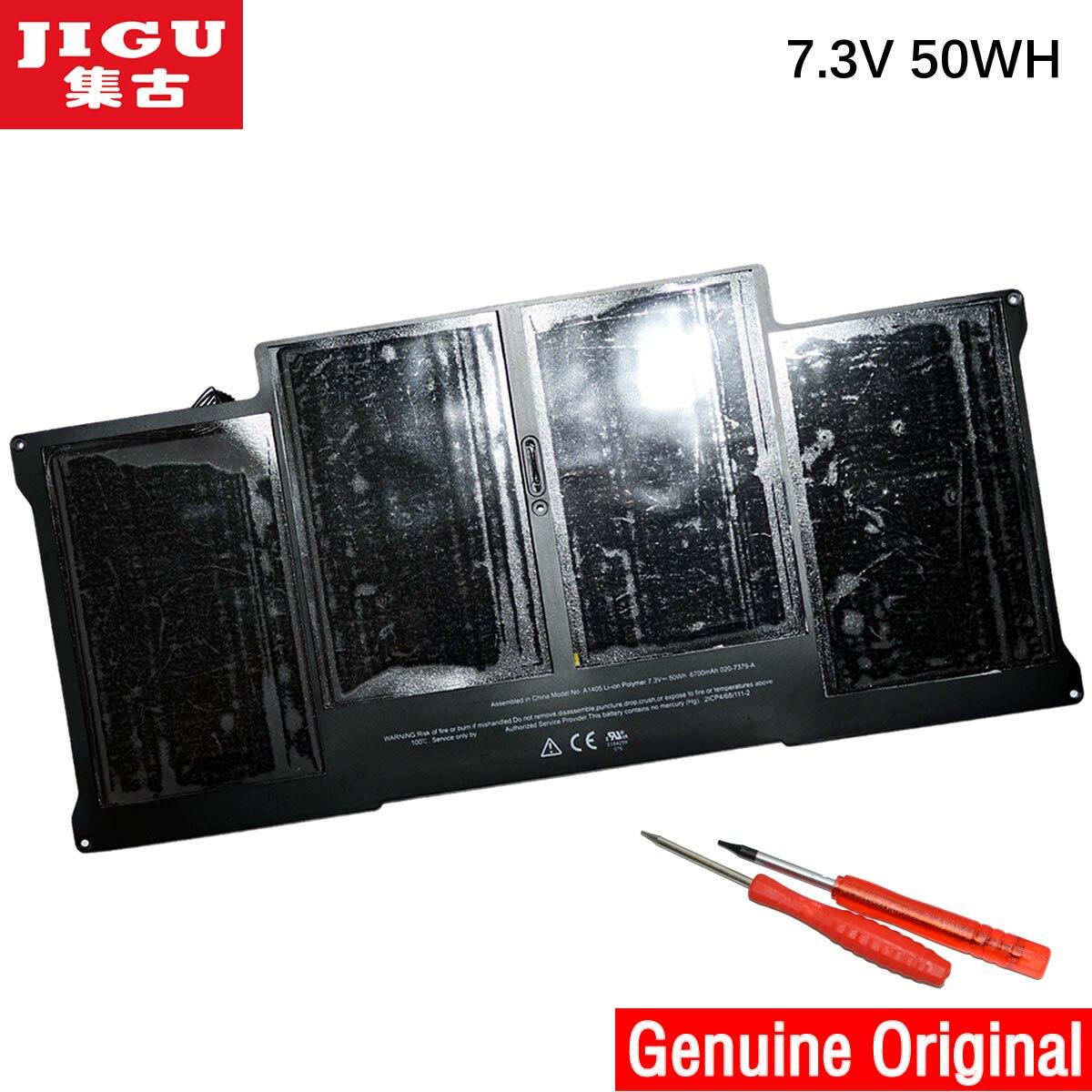 JIGU Prix Spécial Nouvelle batterie D'origine A1405 pour Apple Macbook Air 13