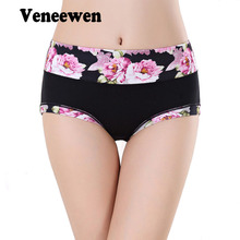 Women Panties Underwear Plus size 4XL Modal Sexy vs Calcinha Bragas Mujer Culotte Femme Women's Printing Briefs Panty