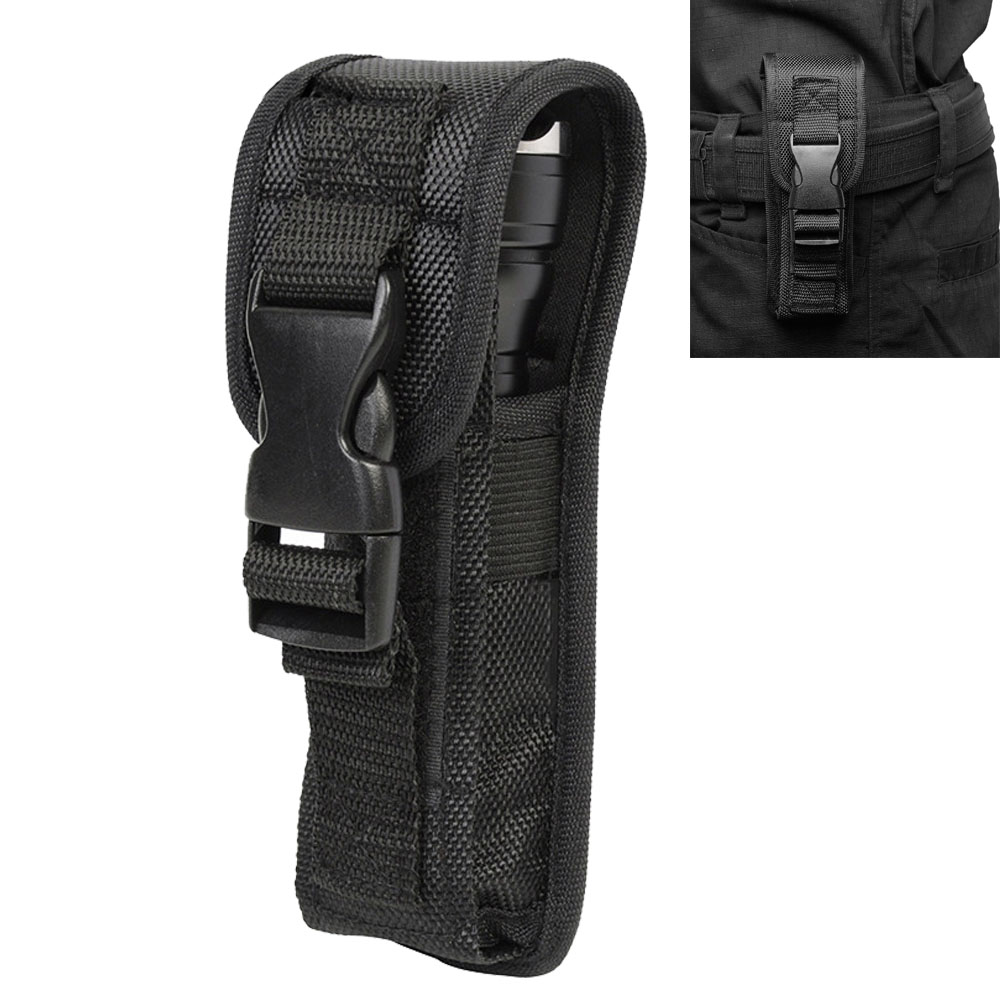 Flashlight Holster Case Led Torch Flashlight Pouch Holster for Duty Belt Holder with Molle System and BuckleFlashlight Holster Case Led Torch Flashlight Pouch Holster for Duty Belt Holder with Molle System and Buckle