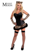 Leopard Catwoman Adult Sexy Animal Costume Carnival Funny Dress Cosplay Halloween Costumes For Women Role Play