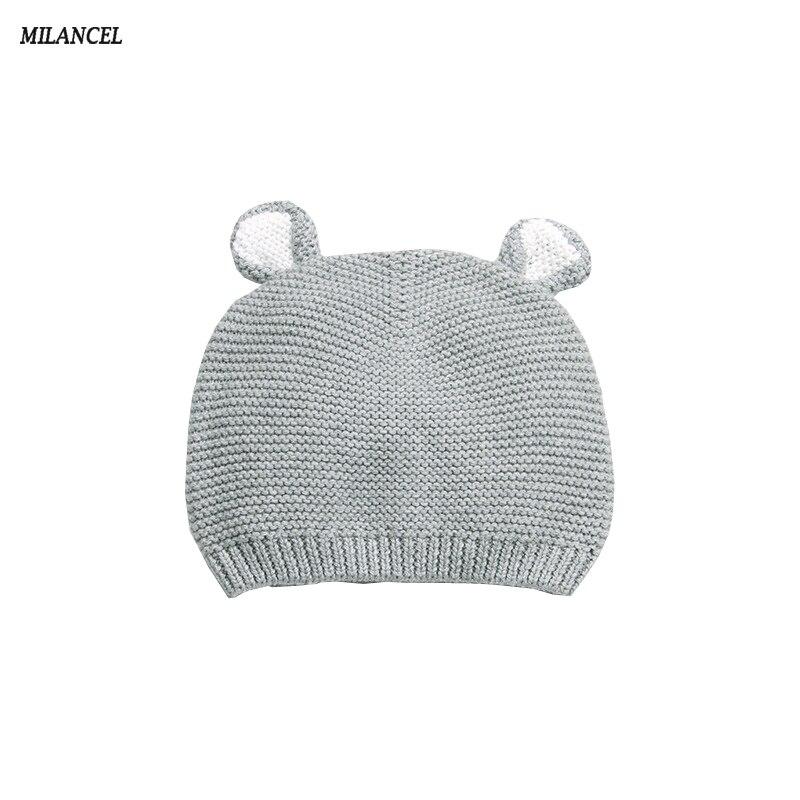 Milancel 2018 nuevo bebé Niños Niñas sombrero lindo conejo oído bebé  sombrero recién nacido props bebé capó recién nacido estudio foto shoot ...