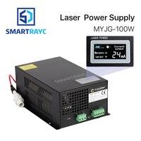 Smartrayc 80 100 Вт CO2 лазерной Питание для CO2 лазерной гравировки, резки MYJG 100 светодиодный