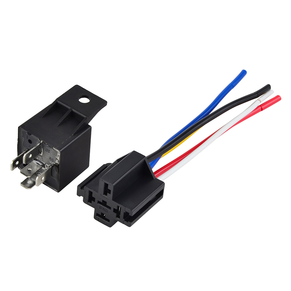 3 Way High Low Headlight Mod New Relay & Socket For Polaris Sportsman 300 325 350 400 425 450 500 550 570 600 700 800 850 1000