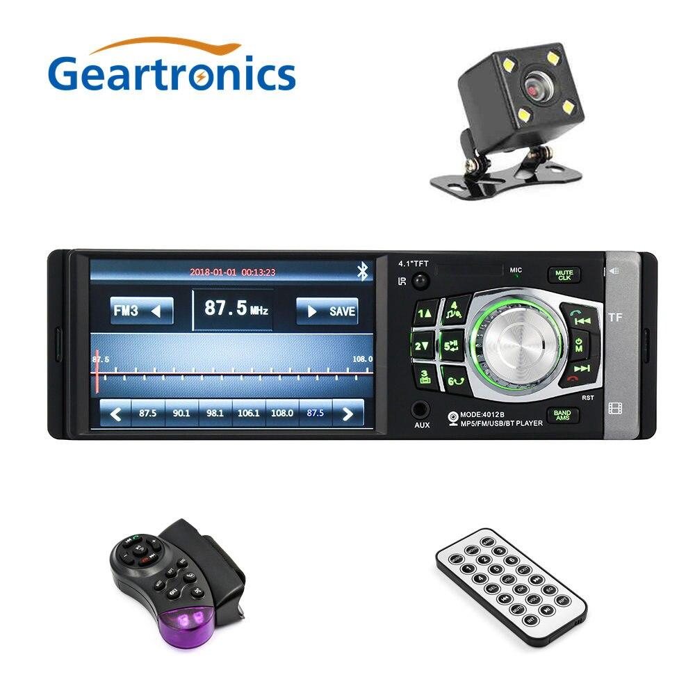 4012B 4.1 pouces autoradio stéréo lecteur MP5 Bluetooth Audio vidéo TF USB Port caméra disponible télécommande