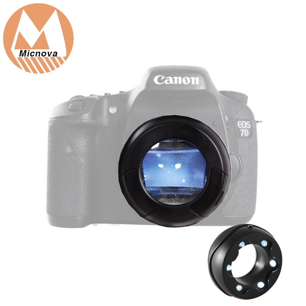 Micnova MQ-7X LED Lighted Cleaning Loupe SLR Sensor Loupe with CCD/CMOS Dust Illuminating Bright LED's for Cleaning