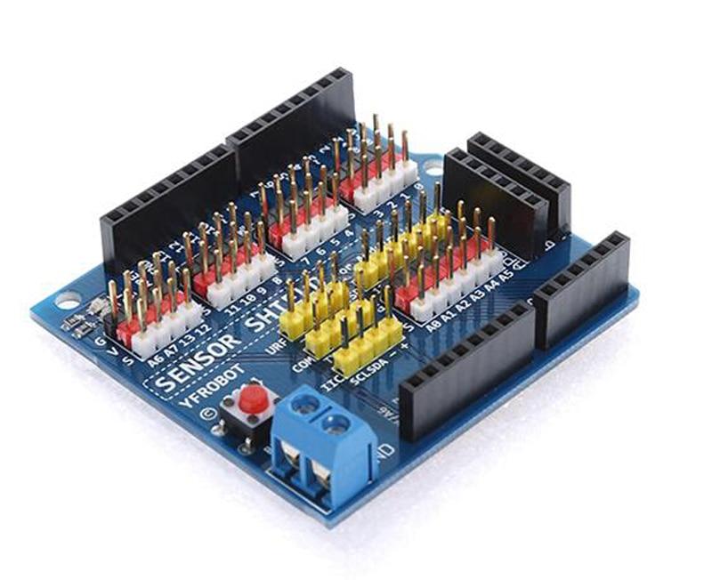 Arduino Uno R3 extension board Arduino Sensor Shield V5.0 sensor expansion plate electronic building blocks open smart uno atmega328p development board for arduino uno r3