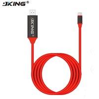 JKING 2018 New 2m USB C Type C USB 3 1 To HDMI 4k 2k HDTV