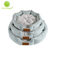 Warm Thicken Dog Bed Top Quality Fleece Cushion For Small Medium Large Dogs & Cat Winter Dog Kennel New Year Puppy Mat 10A