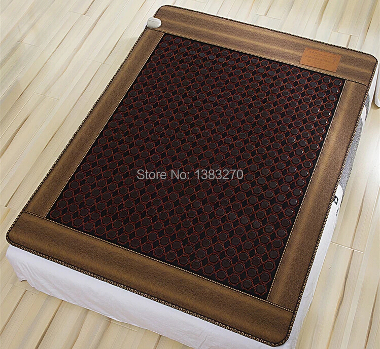 Electric heated jade mattress massage bed cushion cover negative ion stone massage mattress1.2X1.9M 2016 heat electric heating jade stone massage pad cushion cover wholesale china supplier 3 size for you choice