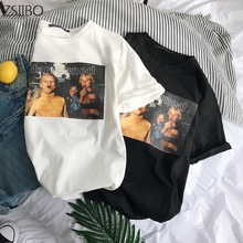 Men's T-Shirt summer Printed Kawaii Kids Photo Short Sleeve t shirt men Plus Size M-3XL Wild section Lover gift shirt Tops все цены