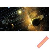 Cosmos Năng Lượng Mặt Trời Hệ Thống Không Gian nhiếp ảnh hình ảnh vải lụa 120X60 CM art painting thư pháp Tường room Trang Trí Nội Thất