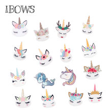 10pcs/lot Personalized Resin Hornhorse Cute Cartoon DIY Accessories For Refrigerator Home Decoration Handmade Crafts(China)