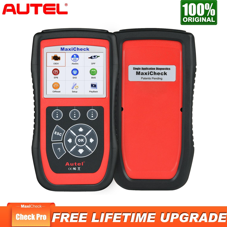 Outil de Diagnostic automatique de voiture d'autel MaxiCheck Pro Scanner OBD2 Service d'huile d'epb ABS SRS BMS escaner automotriz professionnel
